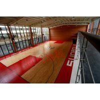 富阳 专业室内篮球场木地板厂家 承接 篮球运动地板项目 全国包安装