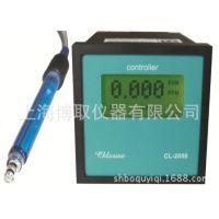 博取CL-2059型液晶触摸屏显示英文操作在线水中臭氧浓度检测仪表