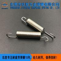 圆柱形拉伸弹簧,玖胜弹簧批发商生产拉簧,专业的弹簧生产厂家