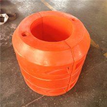 航道浅滩疏浚疏通管道浮体,夹管子浮筒厂家