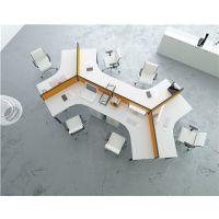 朗哥家具 6人位职员桌 办公屏风卡位 办公桌定制65