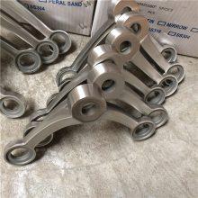 新云 厂家直销 304不锈钢驳接爪 三爪玻璃爪 点式玻璃幕墙爪 驳接爪