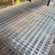 重型插接钢格栅板电厂平台钢格板 齿形防滑钢格板现货