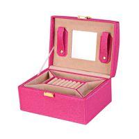 首饰盒公主欧式韩国手饰品首饰收纳盒双层大项链盒戒指盒
