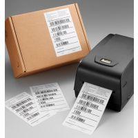 厂家直供河南省洗衣连锁店专用标签打印机立象OX-100标签机带切刀