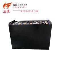 牵引用铅酸蓄电池 电瓶蓄电池 叉车电池5VBS500-80V