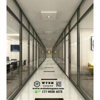 天津玻璃隔断厂家 玻璃隔断公司 玻璃隔断装修