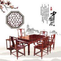 红木茶桌/客厅休闲家具系列/黑酸枝厂家直销/红木茶桌系列