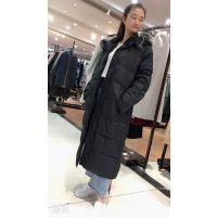 广州高第街服装工业品市场品牌折扣女装三荟服饰品牌折扣店连真我永恒羽绒服