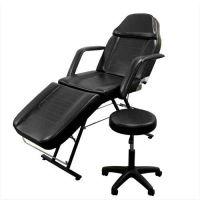 畅销黑色美容椅带大工凳