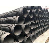 厂家直销 克拉管 HDPE缠绕结构壁B型管 口径200-2400市政排污管道保定力和