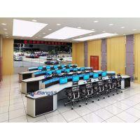 情报信息合成研判作战区监控调度台 专业生产电网控制桌
