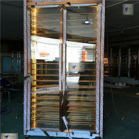 伟天盛定制加工304欧式不锈钢恒温酒柜供应电子金属控温酒柜