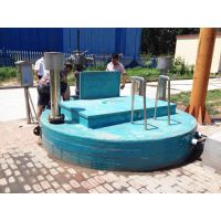 不影响环境景观的泵站 地埋式安装 亚太一体化预制泵站节能