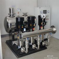 聊城卓智 生产 节能不锈钢供水设备 变频无负压供水设备 厂家