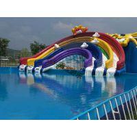 租赁夏季大型移动水上乐园,动漫水世界,钢架水池,充气游泳池,气模玩具