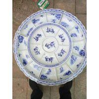 东北烤全羊专用1米1.2米超大陶瓷大盘子