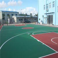 源城制造篮球场涂料厂家 柏克防摔运动地面铺设 16年新款篮球场材料供应