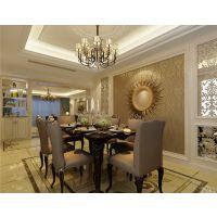 合肥玉兰公寓220平欧式风格装修效果图半包9.8万