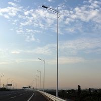 汕头市单向路灯厂家 农村电线杆多少钱一根 订购LED灯杆哪里有