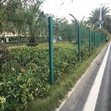 珠海双边丝隔离护栏 三角折弯广州现货 茂名勾花防爬网