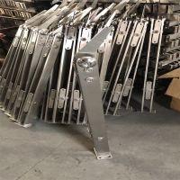 耀恒 宿迁304材质新款工程楼梯扶手栏杆扶栏阳台扁管玻璃不锈钢立柱