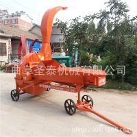 大型自动进料铡草机 各种饲草铡草机 多功能青贮铡草机
