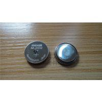 总代理 日本原装进口maxell万胜ML2032 3V锂锰可充扣式电池 RTC实时时钟 后备电源