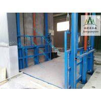 电动液压导轨升降平台钢结构房子专用升降货梯