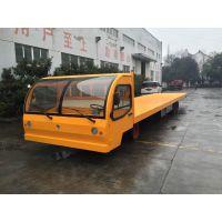 扬州10吨电动货车,电动平板式无轨货车,遥控平板车