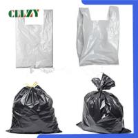 热销的一次性可降解的黑色加厚垃圾袋(接受OEM、ODM)