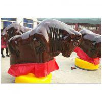 直销批发价斗牛机游乐设备 西班牙疯狂趣味斗牛机 拓展趣味运动斗牛机厂家