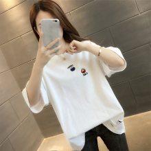 夏装短袖T恤批发便宜韩版女装上衣时尚女士T恤便宜韩版T恤厂家直销