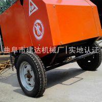 专业生产玉米小麦秸秆稻草打捆机 牵引式自动捡拾秸秆打捆机