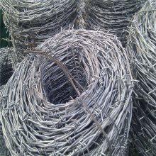 刺绳铁丝网 围栏刺丝 刺丝滚笼