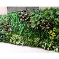深圳绿琴厂家批发 高档仿真植物墙 人造假绿植墙 家居装修绿化塑料植物 绢布装饰假花假叶子