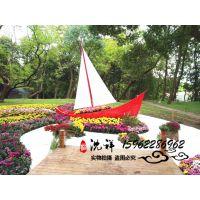 广东那里找能做装饰船的厂家景观船海盗船室内餐饮木船