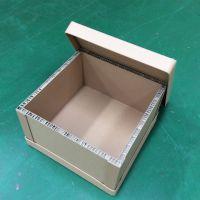 直销超薄款5mm蜂窝纸箱_可进叉的蜂窝纸箱_带扣手的蜂窝纸箱