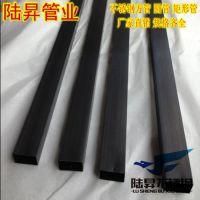 201拉丝/光面黑钛金不锈钢方管22*22*1.5