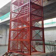 沧州路桥安全爬梯@保定梯笼爬梯宏祥定做各种规格非标产品
