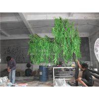 ???室内装饰仿真柳树 玻璃钢柳树 厂家低价直销仿真树