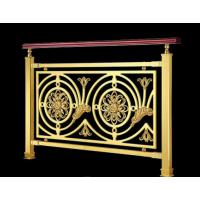 锢雅精雕纯正金属质感的纯铜雕刻镀金护栏