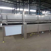 隧道常温水解冻机 快速便捷解冻化冰设备 冷冻食品加工解冻设备