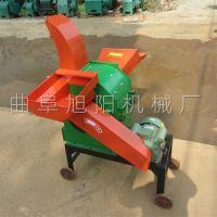 多功能铡草粉碎机干湿秸秆揉搓机玉米芯粉碎机高喷口切草机直销