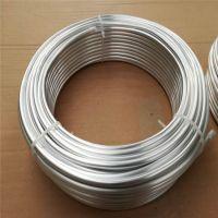 6063超薄壁厚铝合金圆管玩具天线折弯铝盘管