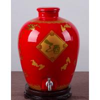 厂家直销新款30斤20斤陶瓷酒坛 定制泡酒坛子批发