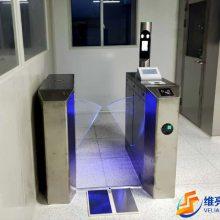 ESD防静电门禁通道,净化车间门禁道闸,刷卡显示阻值静电门