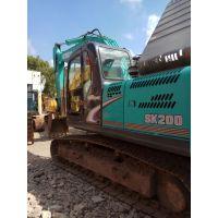 转让二手挖掘机神钢200-8纯土方性能好手续全