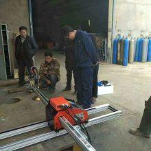 西安上海华威 HNC-1500-Q-6 便携式数控切割机 小型数控火焰切割机价格
