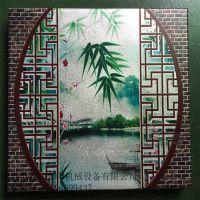 艺术背景墙印花制造工艺是什么